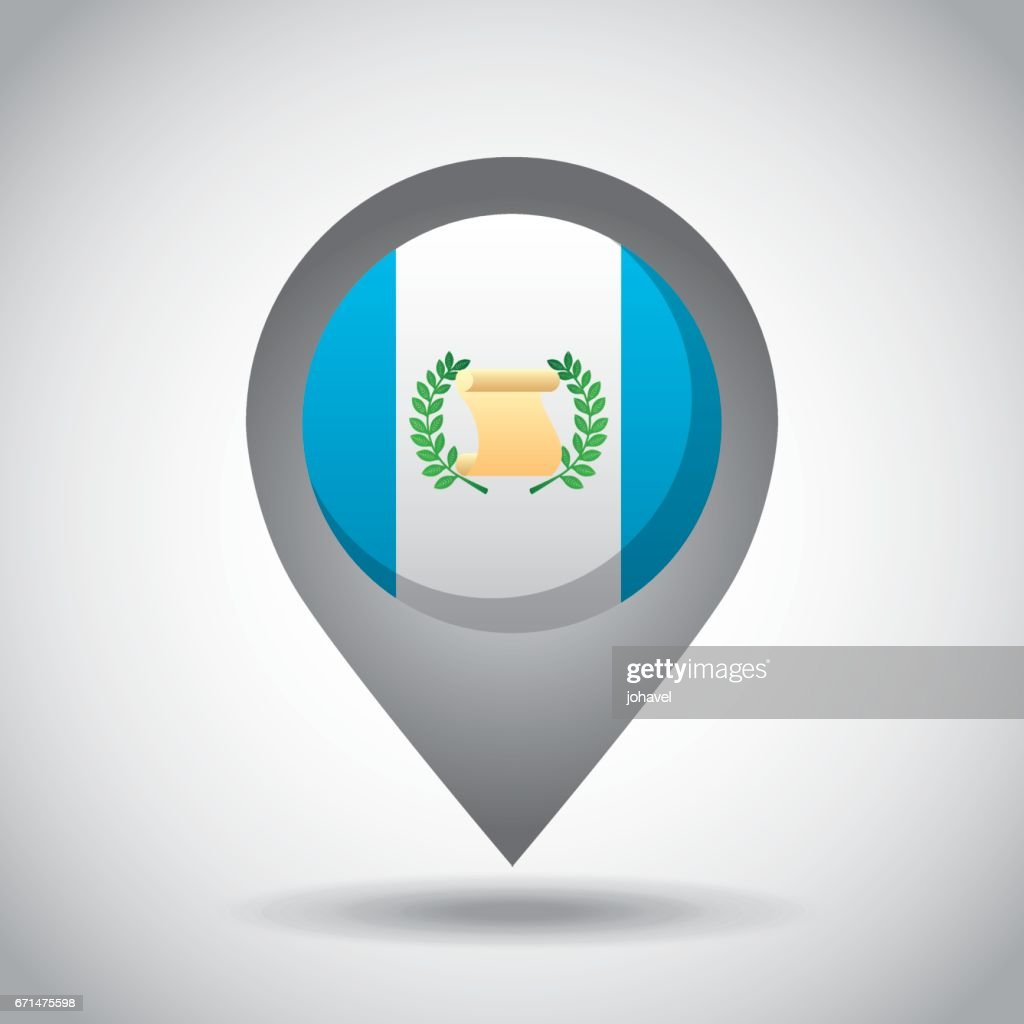 Guatemala Flag Pin Vector Art Getty Images