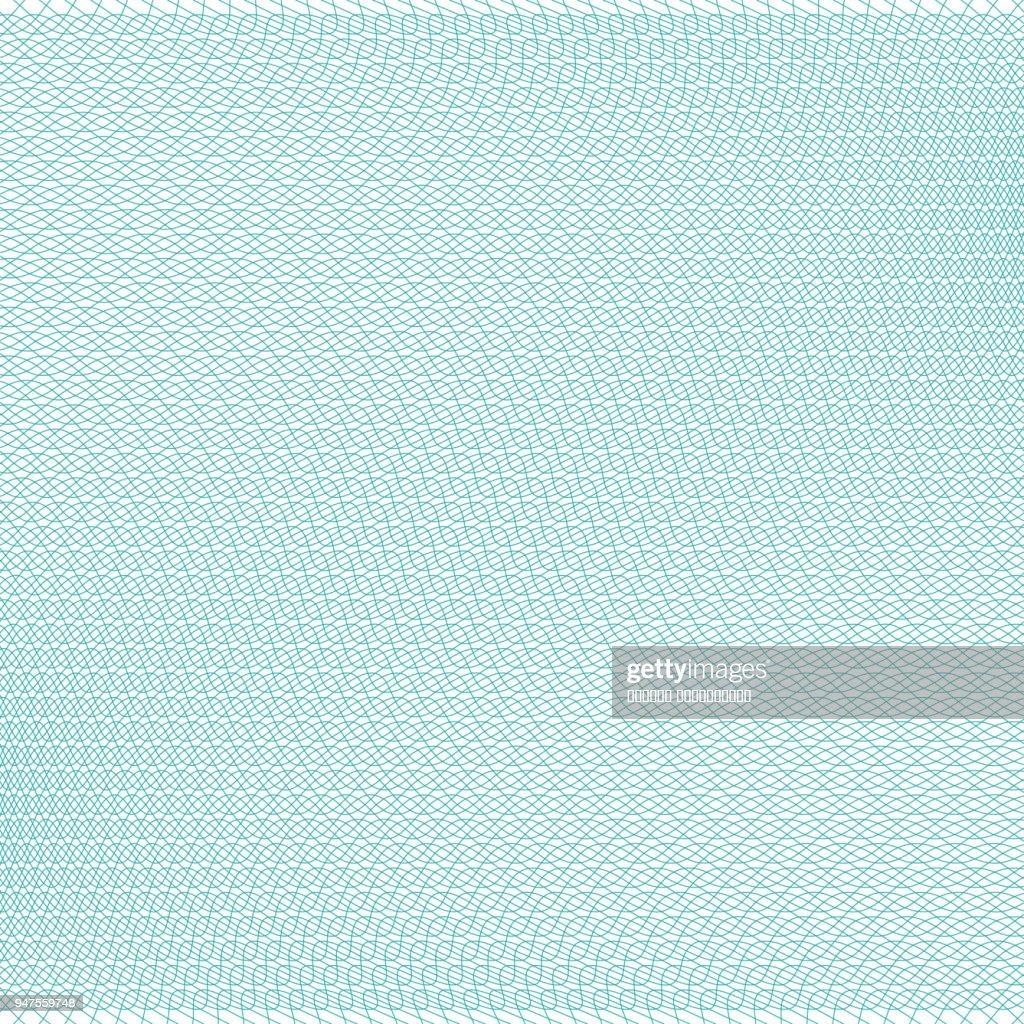 Guilloche elements, grid vector