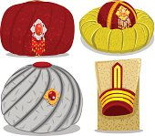 Guilted turban of Sultan