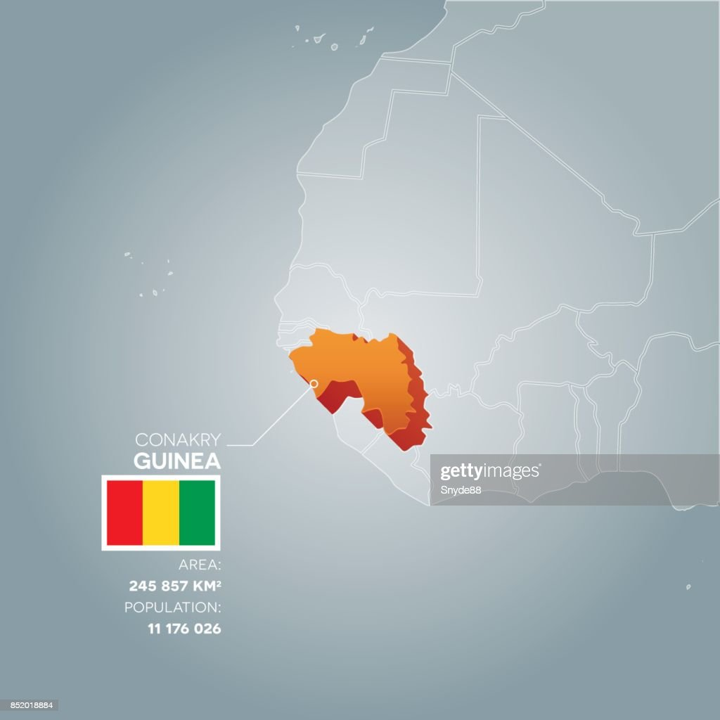 Guinea information map.