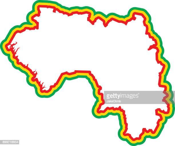 Guinea Outline