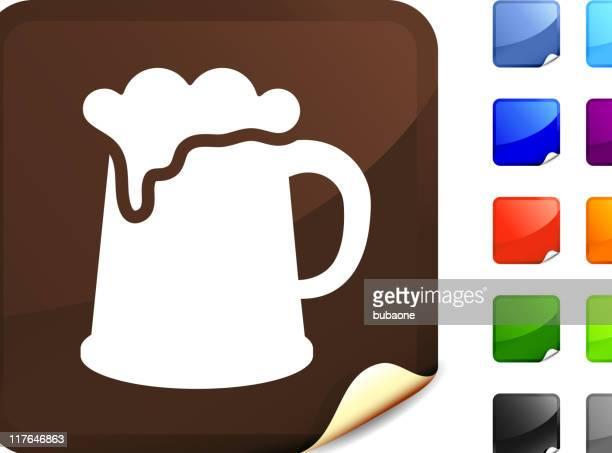 guinness beer mug internet royalty free vector art - lager stock illustrations, clip art, cartoons, & icons