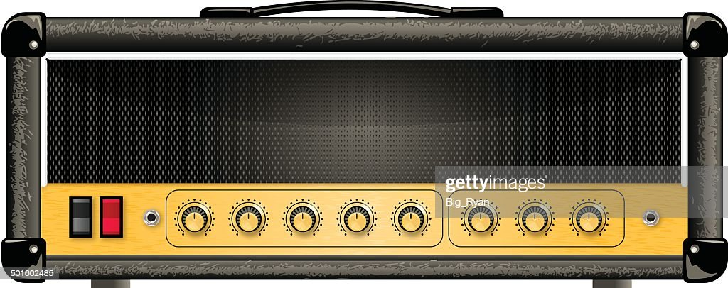 guitar amp head