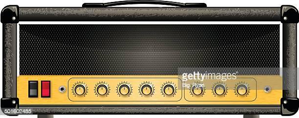 Guitarra amp Cabeça