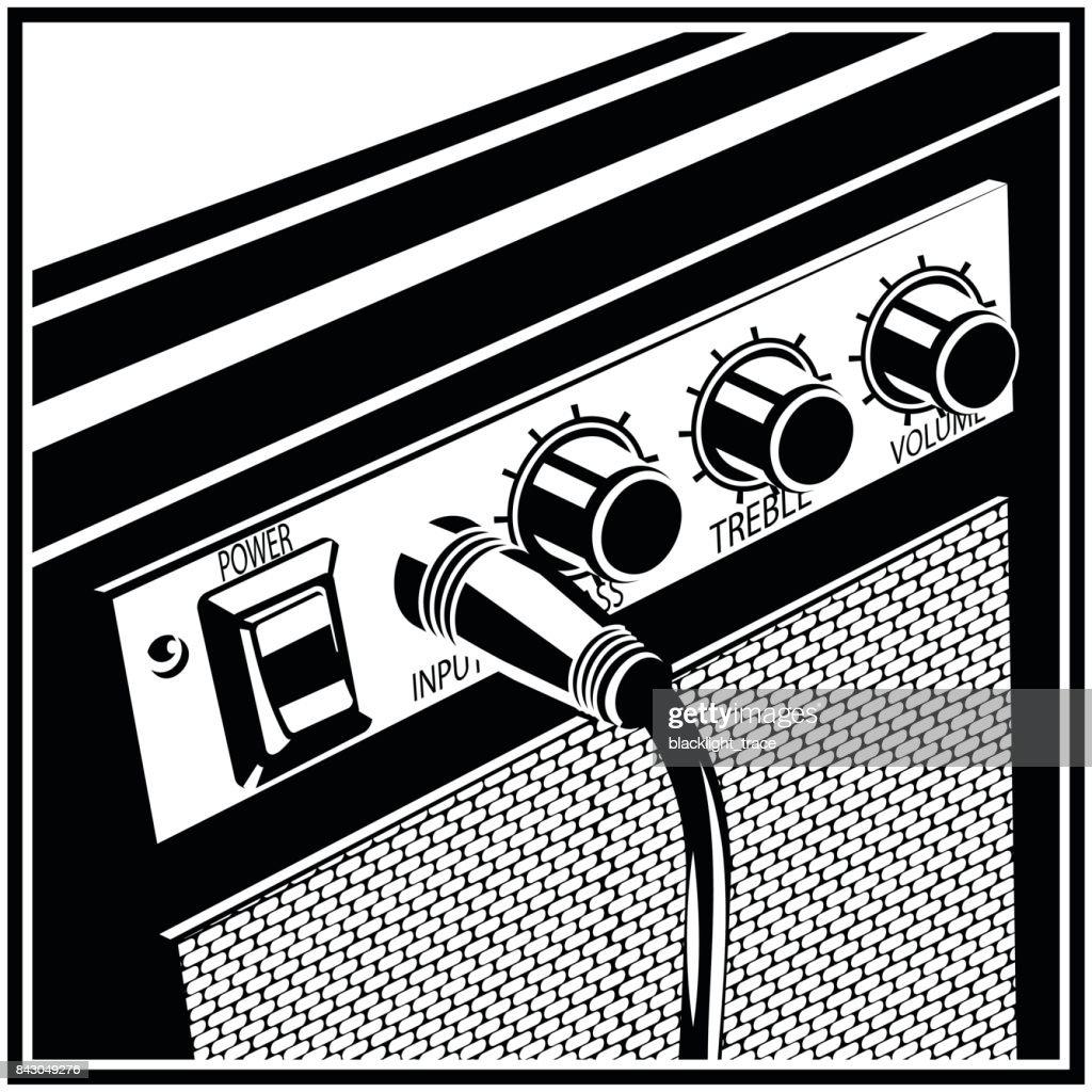 Guitar Amplifier Symbol