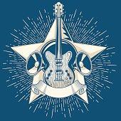 Guitar emblem