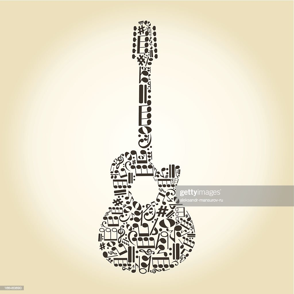 Guitar from notes