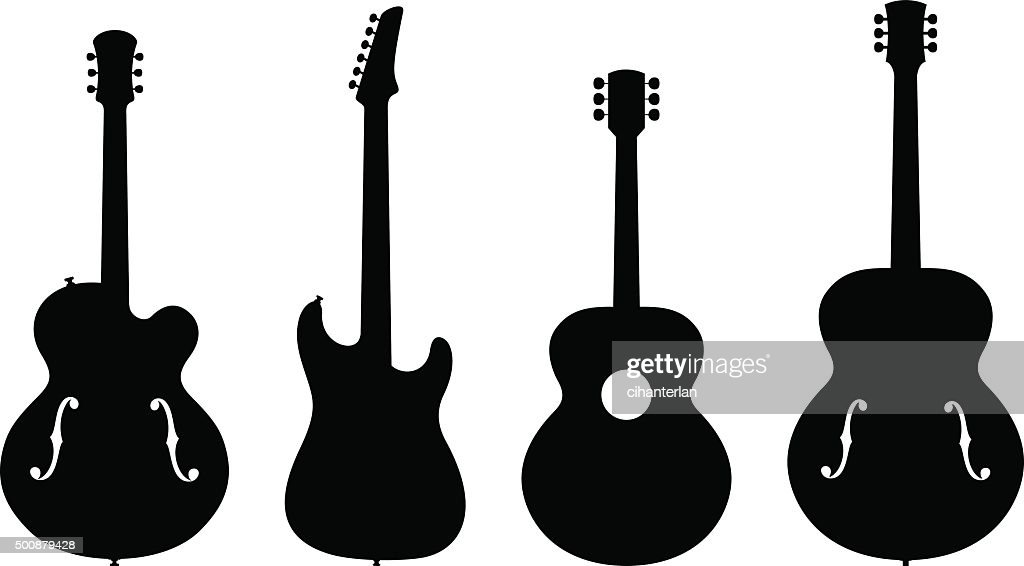 Guitar Silhouettes