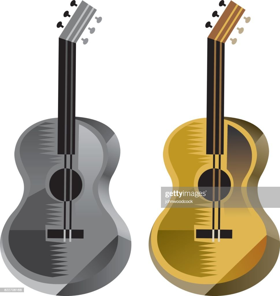 Guitar vector illustration : stock illustration