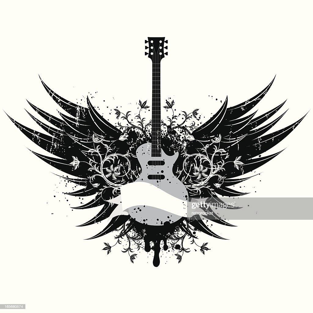 guitar wings insignia