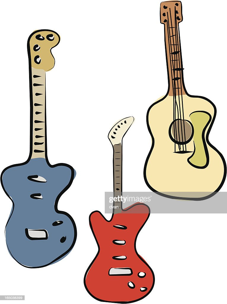 Guitars (Vector)