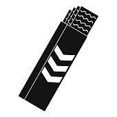 Gum sticks icon, simple style
