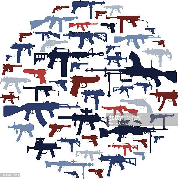 Guns Collage