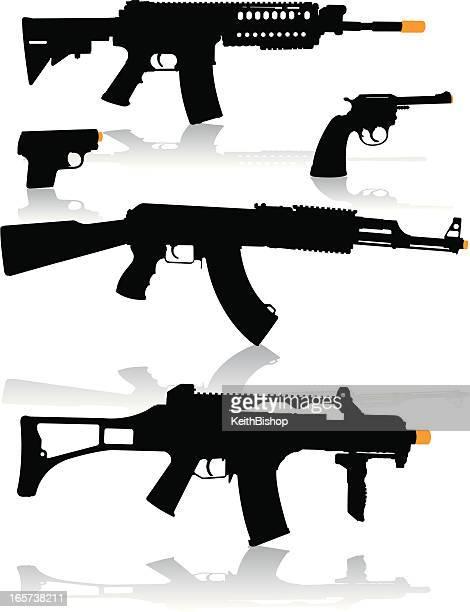 Pistolas-arma de pistola, Arma de guerra, automático