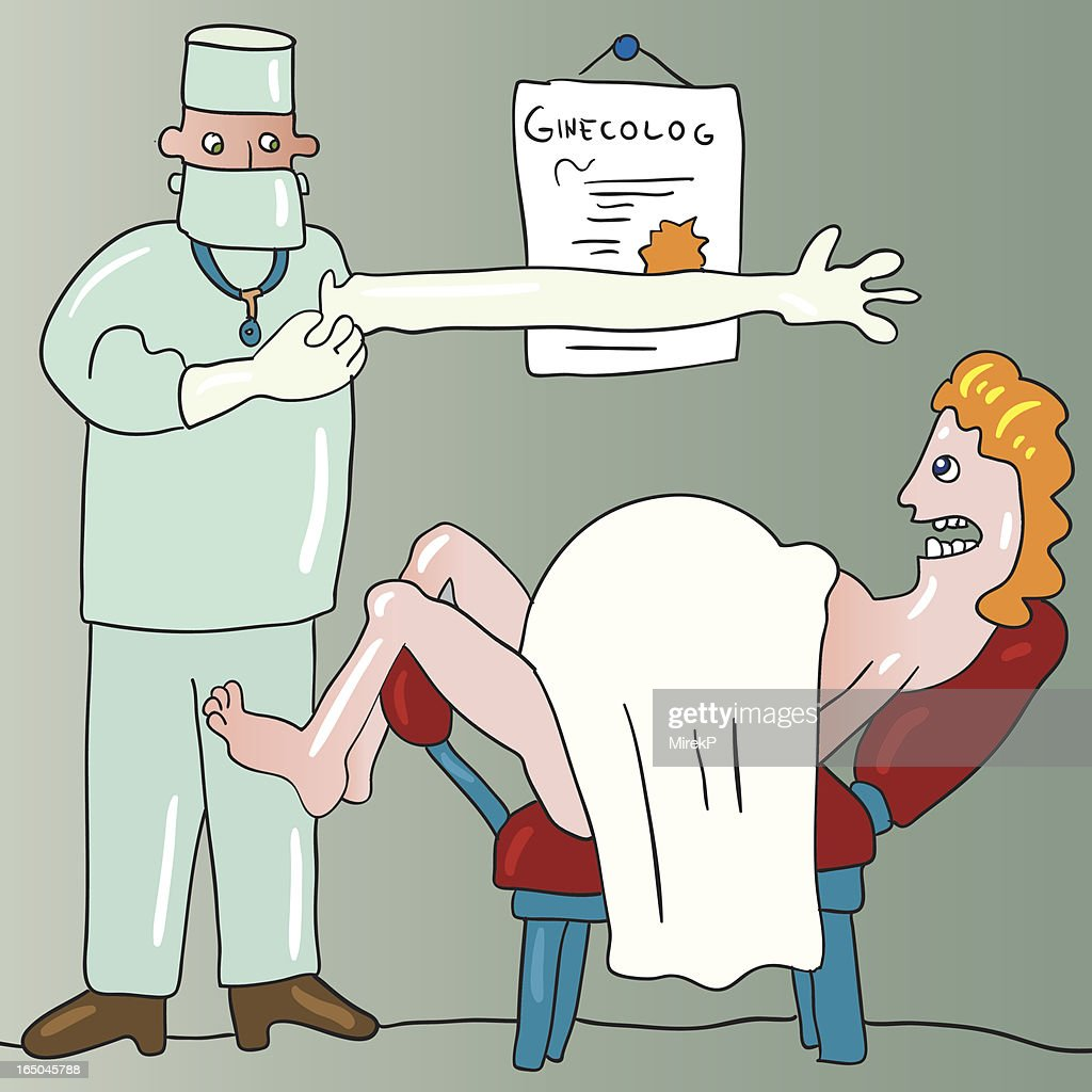 gynecolog : stock illustration