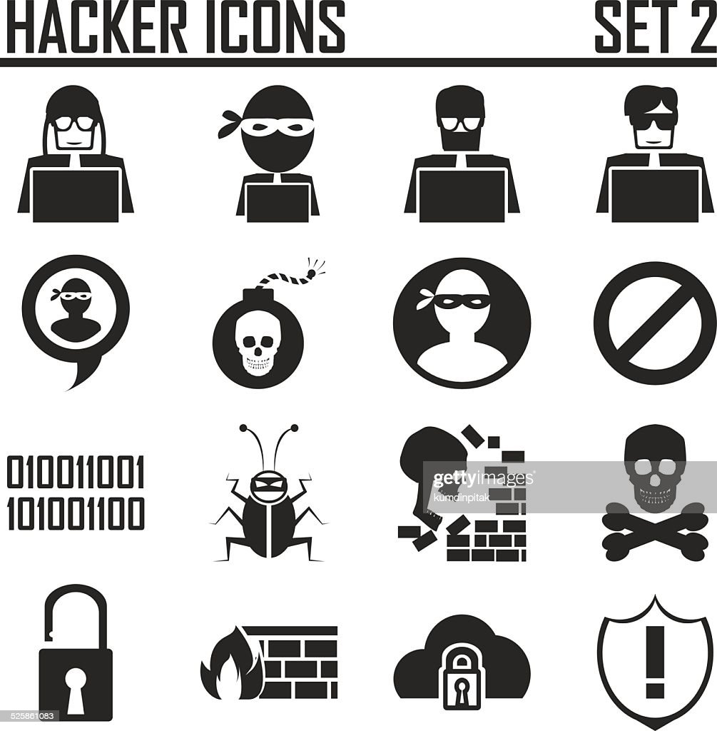 hacker icons set 2