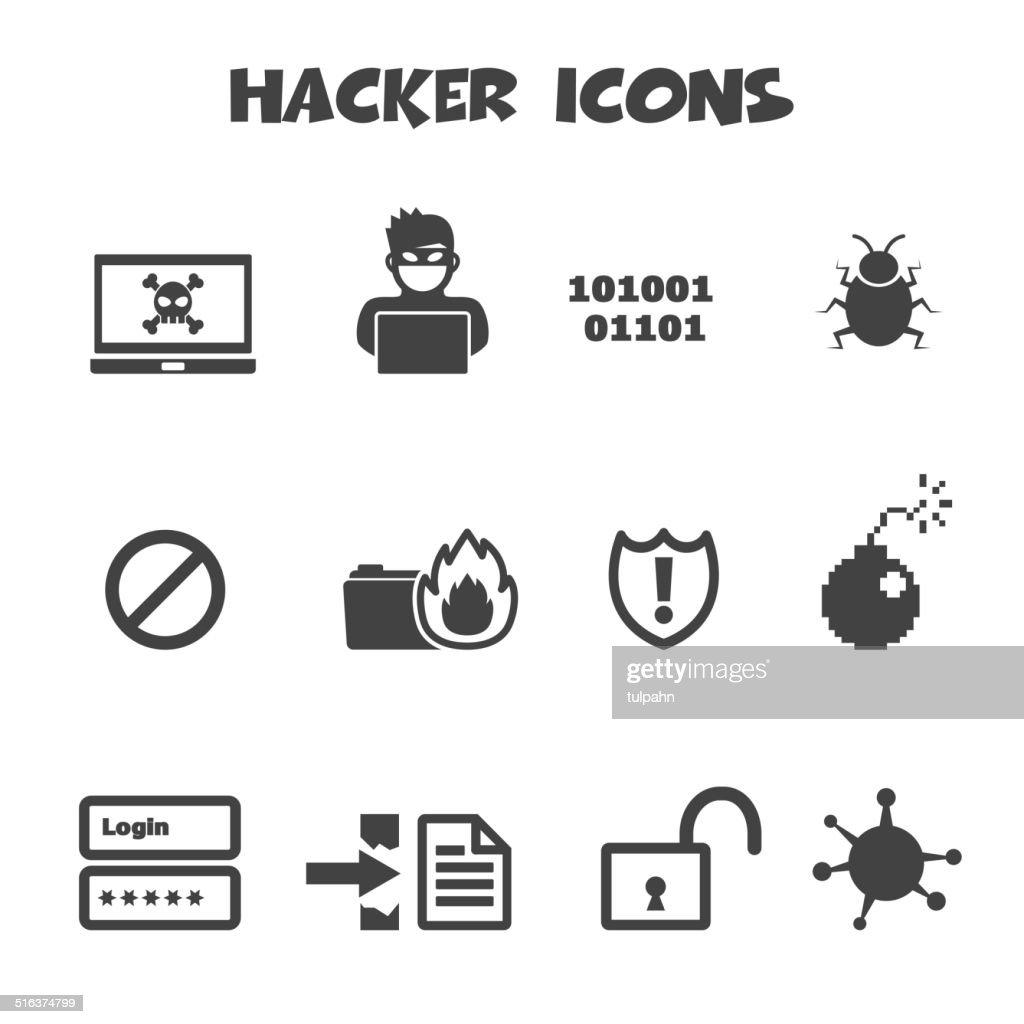 hacker icons