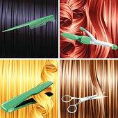 Hair care panels