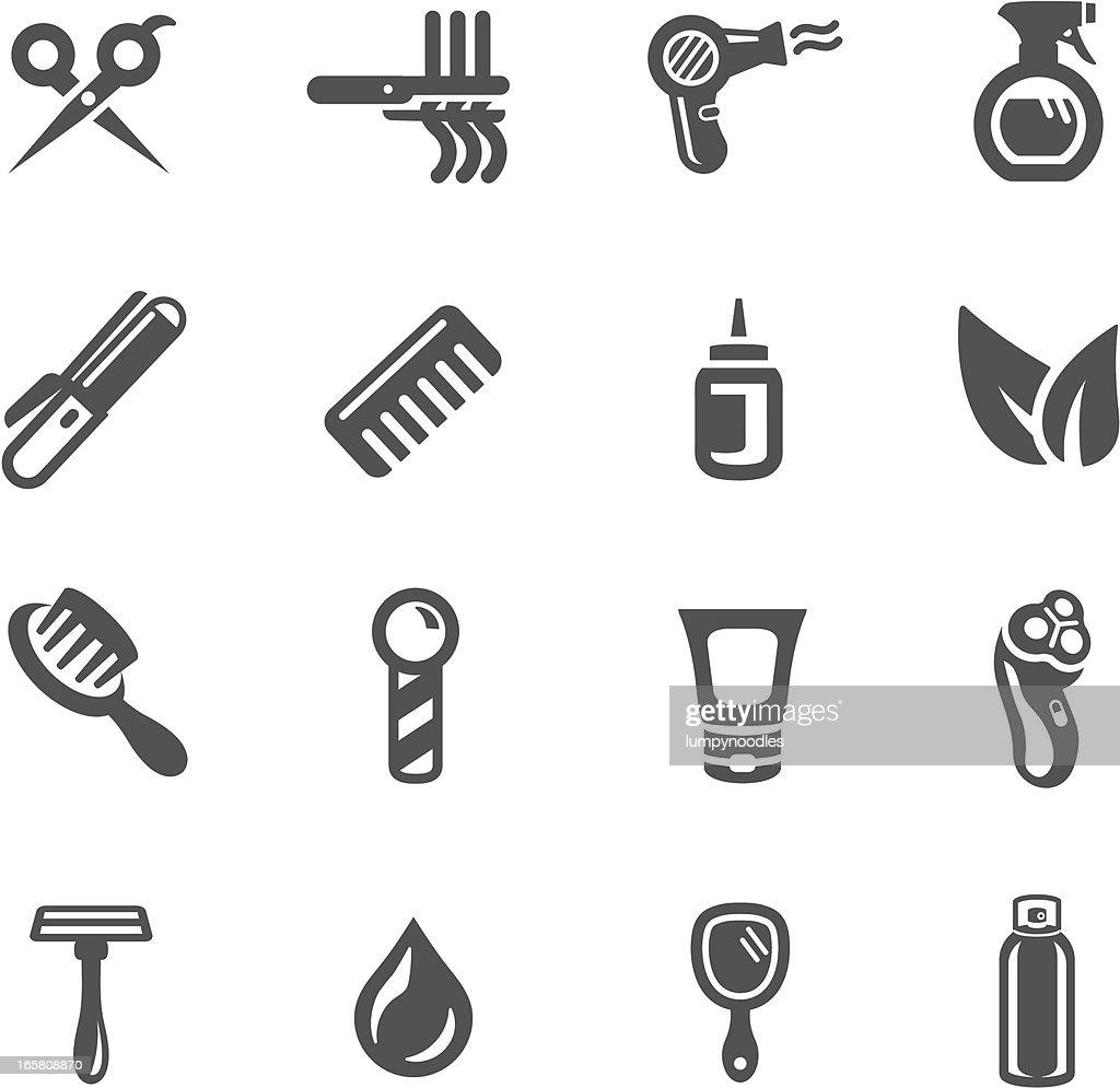 Hair Salon Symbols Vector Art Getty Images