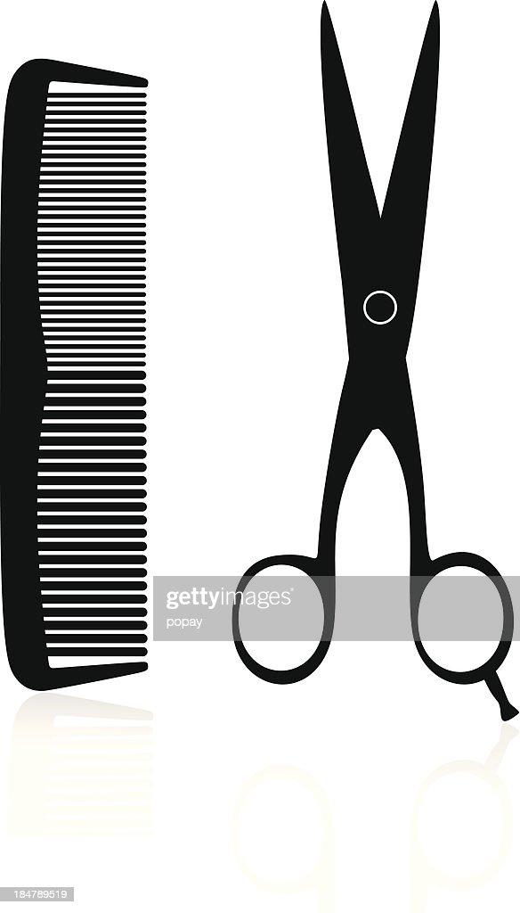 Hairdresser Silhouette