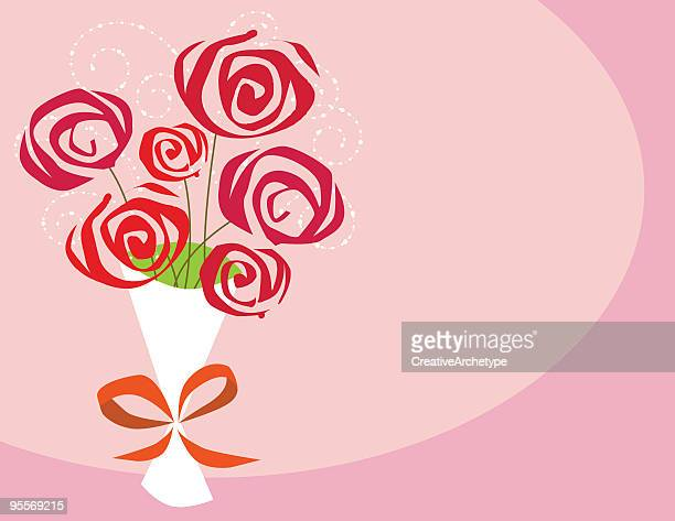 Ein halbes Dutzend Rosen