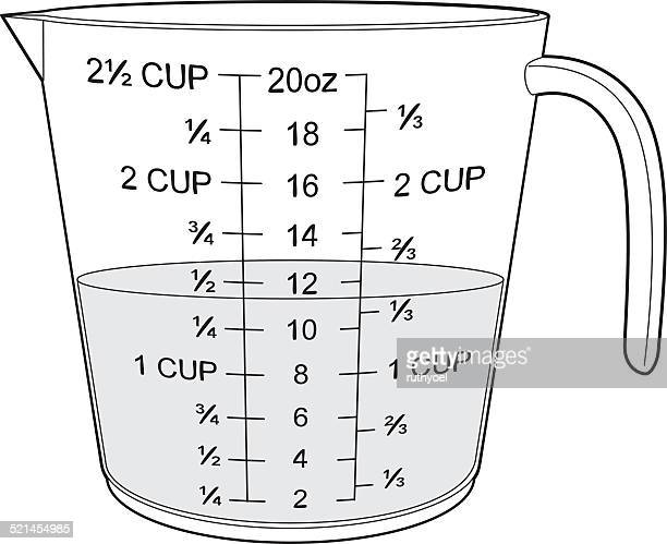 free measuring cup coloring pages - photo#43
