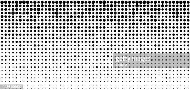 halbton-punkte hintergrund - verblichen stock-grafiken, -clipart, -cartoons und -symbole