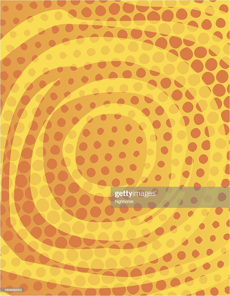 Half Tone Swirl