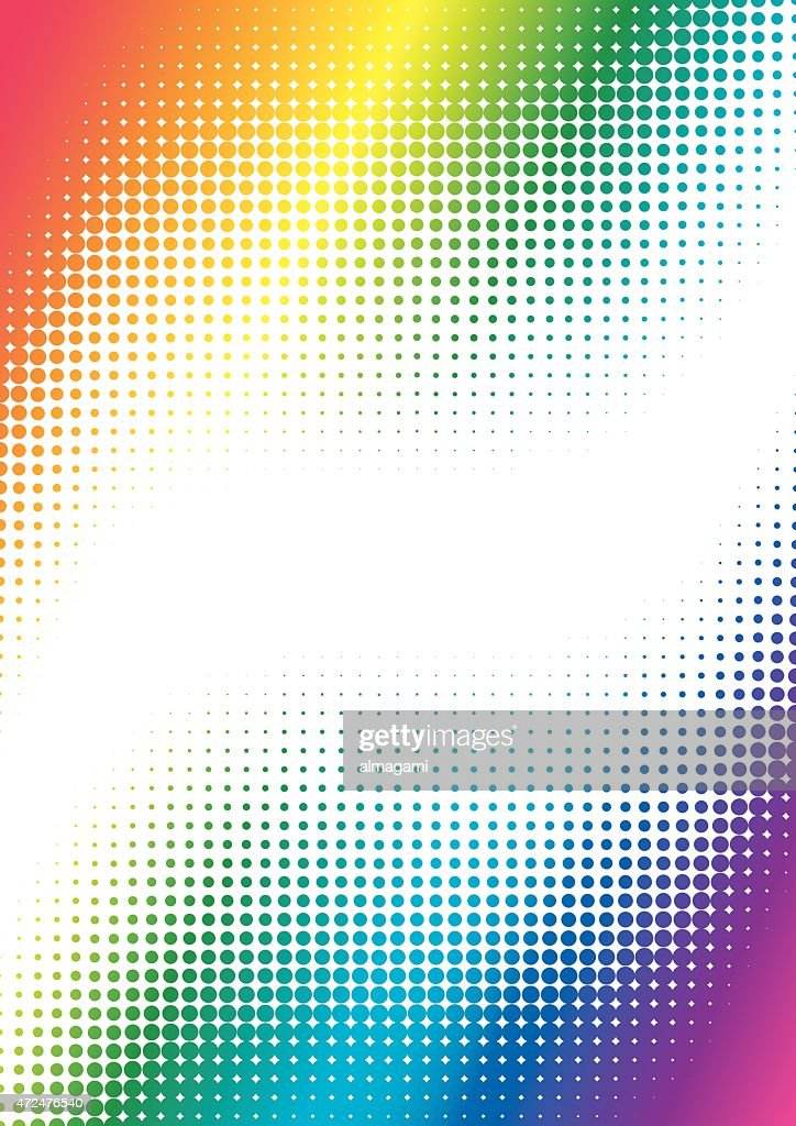 halftone colorful background
