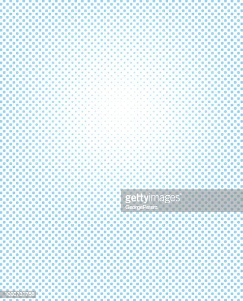 Halftone dot abstract background
