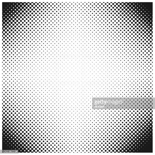 halftone dot abstract background - silk screen stock illustrations