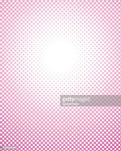 ハーフトーン ドット サークル フレーム - ポップアート点のイラスト素材/クリップアート素材/マンガ素材/アイコン素材