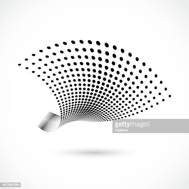 halftone dots icon