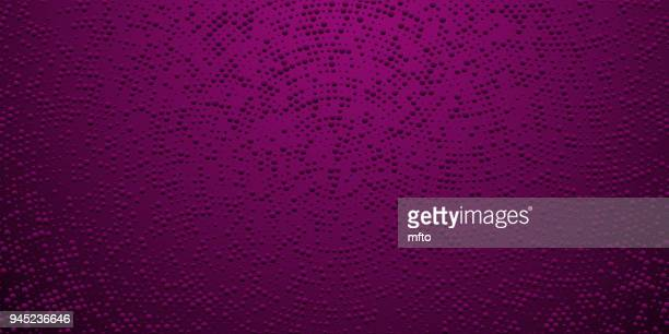 halftone glitter dots background - purple background stock illustrations, clip art, cartoons, & icons