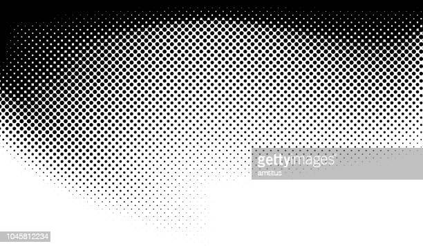halftone gradient - half tone stock illustrations
