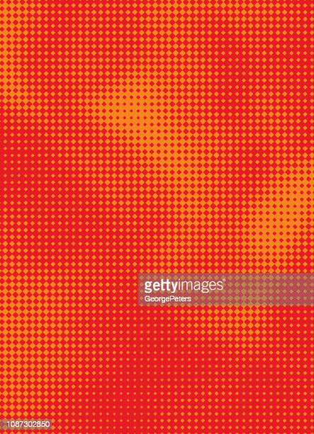 halftone pattern abstract background - morphing stock illustrations