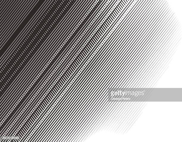 halftone pattern abstract background - tilt stock illustrations