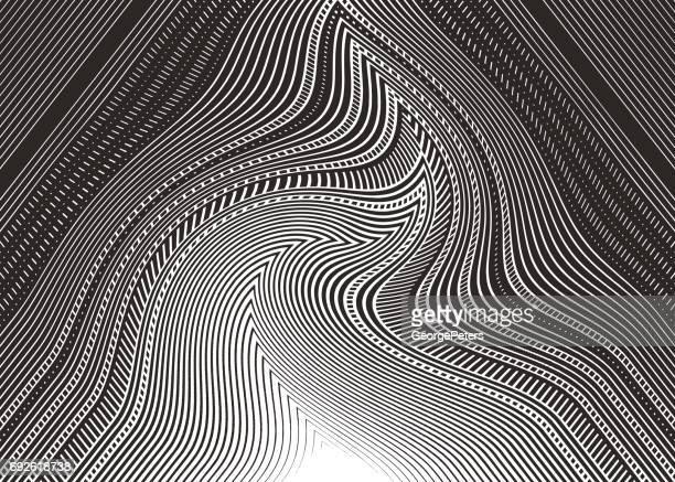 illustrazioni stock, clip art, cartoni animati e icone di tendenza di halftone pattern abstract background - miglioramento digitale