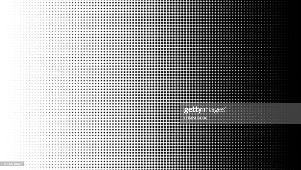 Halftone pattern background, round spot shapes, vintage or retro graphic