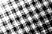 Halftone pattern background, vector halftone dots texture backdrop.