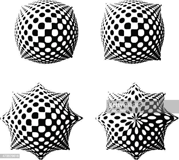 Halftone Pattern Buttons
