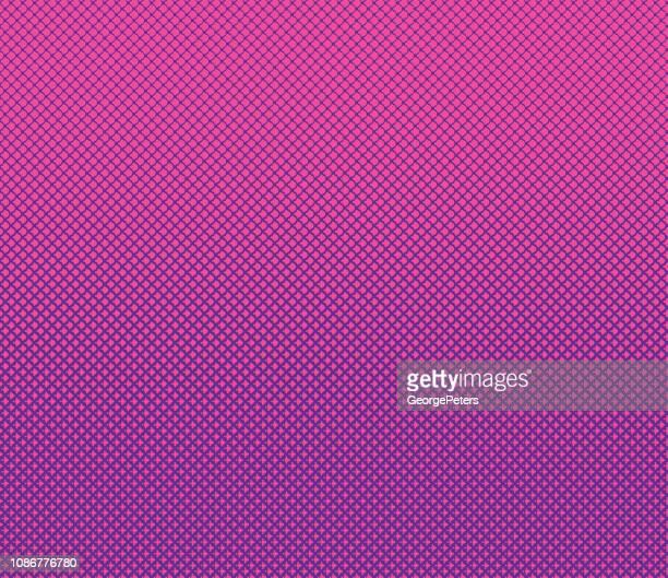 ハーフトーン パターンのドット背景 - スカラップ模様点のイラスト素材/クリップアート素材/マンガ素材/アイコン素材