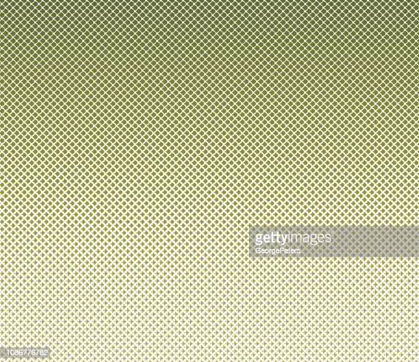 ハーフトーン パターンのドット背景 - カーキグリーン点のイラスト素材/クリップアート素材/マンガ素材/アイコン素材