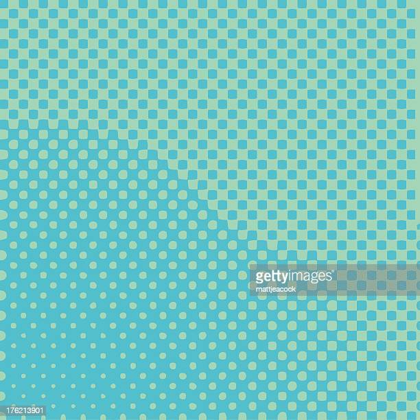 halftone pattern - digital enhancement stock illustrations