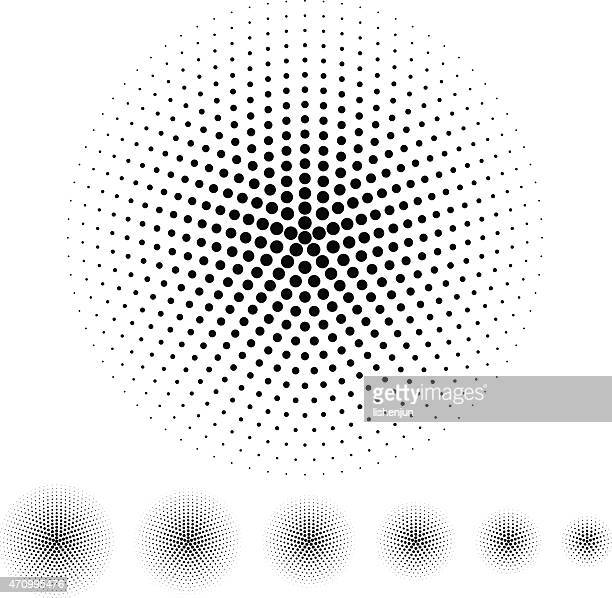 halftone - accuracy stock illustrations