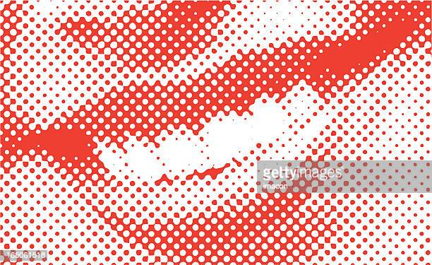 Halftone Vector Smile