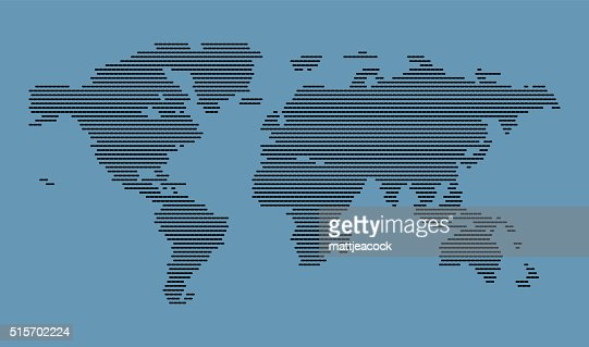 Dotted world map vector art getty images keywords gumiabroncs Images