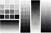 Halftones dots