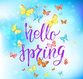 Hallo happy spring