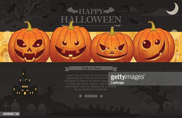 Halloween background [Jack o' Lantern]
